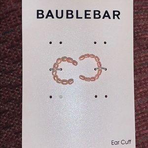 Baublebar pearl ear cuffs